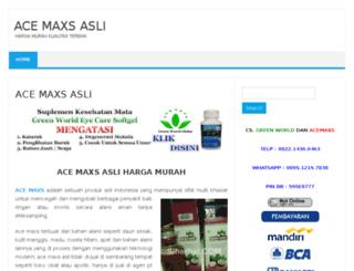 bosacemaxs.web.id screenshot