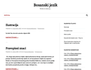 bosanskijezik.blogger.ba screenshot