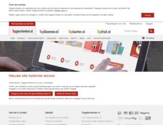 bosbloemenbezorgen.nl screenshot