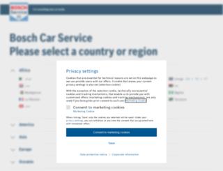 bosch-bcs.com screenshot