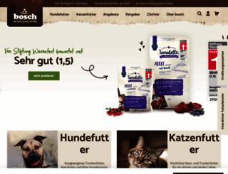 bosch-tiernahrung.de screenshot