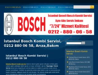 bosch.kombi-servisim.org screenshot