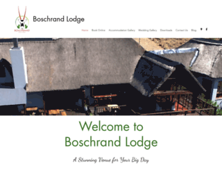 boschrandlodge.co.za screenshot