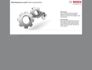 boschsecurity.com.ar screenshot