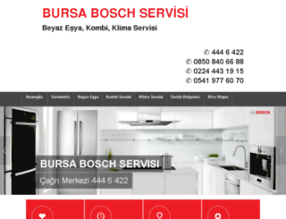 boschservis-bursa.com screenshot