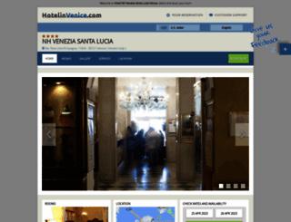 boscolobellini.hotelinvenice.com screenshot