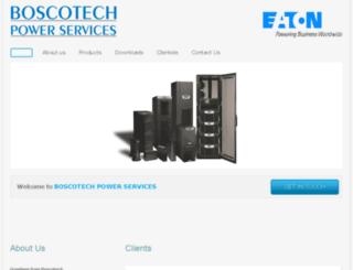 boscotechpower.com screenshot