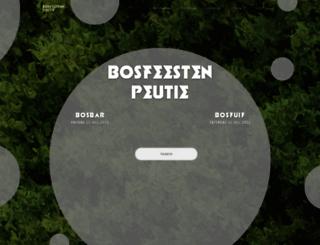 bosfeestenpeutie.be screenshot