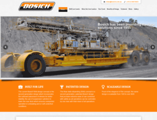bosich.com.au screenshot