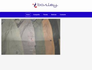 bosley.es screenshot