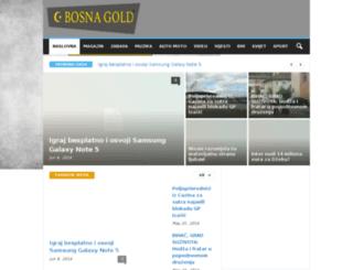 bosnagold.com screenshot