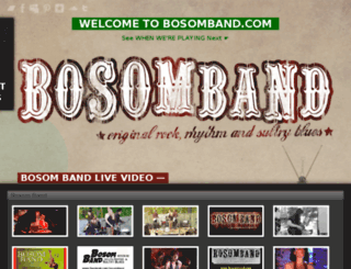bosomband.com screenshot