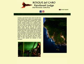 bosquedelcabo.com screenshot