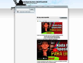 bosquejoscristianos.blogspot.com screenshot