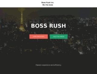 boss-rush.com screenshot