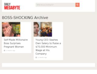 boss-shocking.dailymegabyte.com screenshot