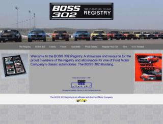 boss302.com screenshot