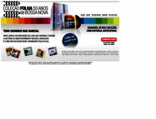 bossanova.folha.com.br screenshot