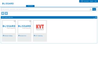 bossard.partcommunity.com screenshot