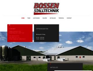 bossen-stalltechnik.de screenshot