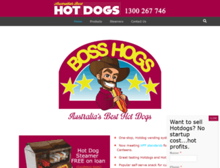 bosshogs.com.au screenshot