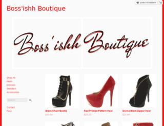 bossishhboutique.storenvy.com screenshot