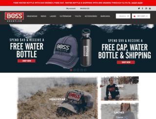 bossplowgear.com screenshot