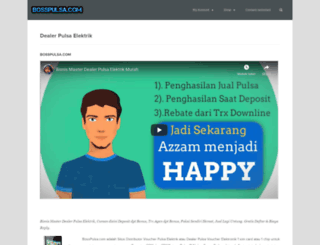 bosspulsa.com screenshot