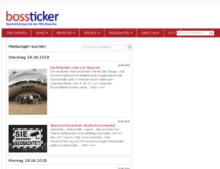bossticker.de screenshot
