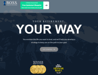 bosswealthplan.com screenshot
