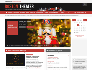 boston-theater.com screenshot