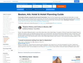 boston.hotelscheap.org screenshot