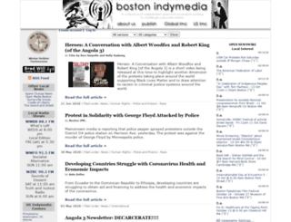 boston.indymedia.org screenshot