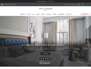 boston.langhamhotels.com screenshot