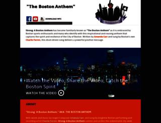 bostonanthem.com screenshot