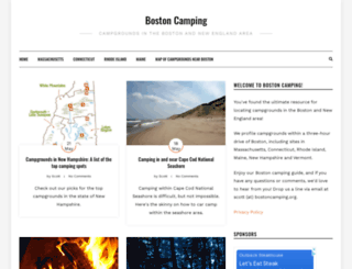 bostoncamping.org screenshot