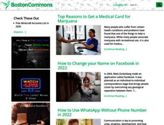 bostoncommons.net screenshot
