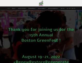 bostongreenfest.org screenshot