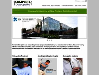 bostonhealthandwellness.com screenshot
