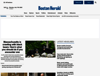 bostonherald.com screenshot