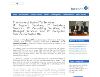 bostonitpro.com screenshot