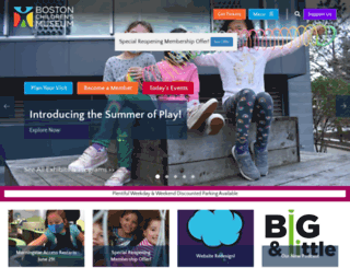 bostonkids.org screenshot
