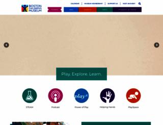 bostonkids.org screenshot