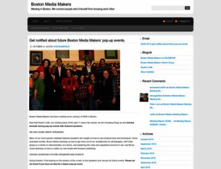 bostonmediamakers.wordpress.com screenshot