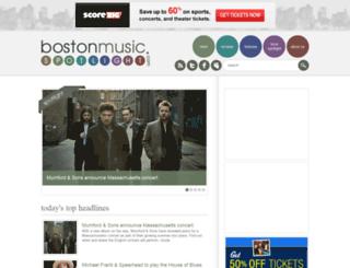 bostonmusicspotlight.com screenshot