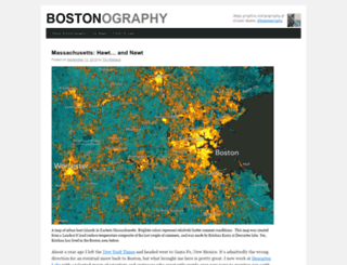 bostonography.com screenshot