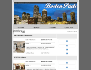 bostonpads.backbaypads.com screenshot