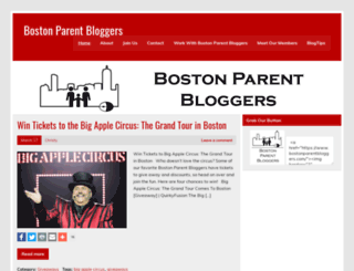 bostonparentbloggers.com screenshot