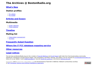 bostonradio.org screenshot