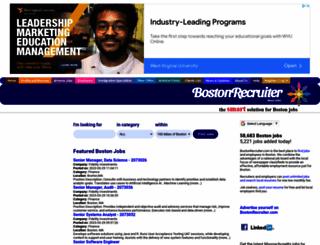 bostonrecruiter.com screenshot